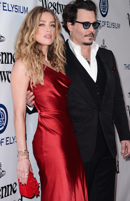 Photos : Amber Heard et Johnny Depp : couple radieux pour la bonne cause !