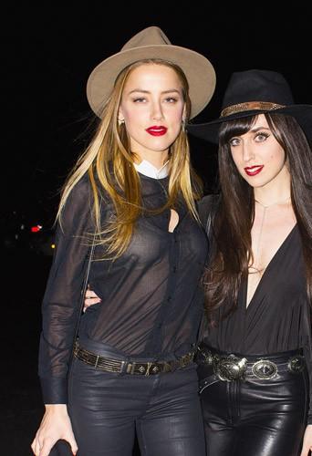 Photos : Amber Heard : toujours plus sexy pour Johnny Depp !