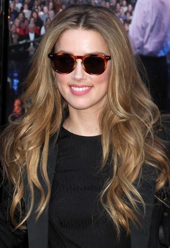 Amber Heard à New-York le 17 février 2014