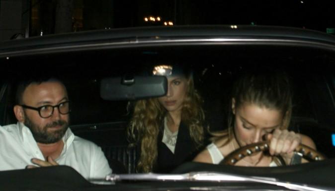 Amber Heard à Beverly Hills le 2 octobre 2012