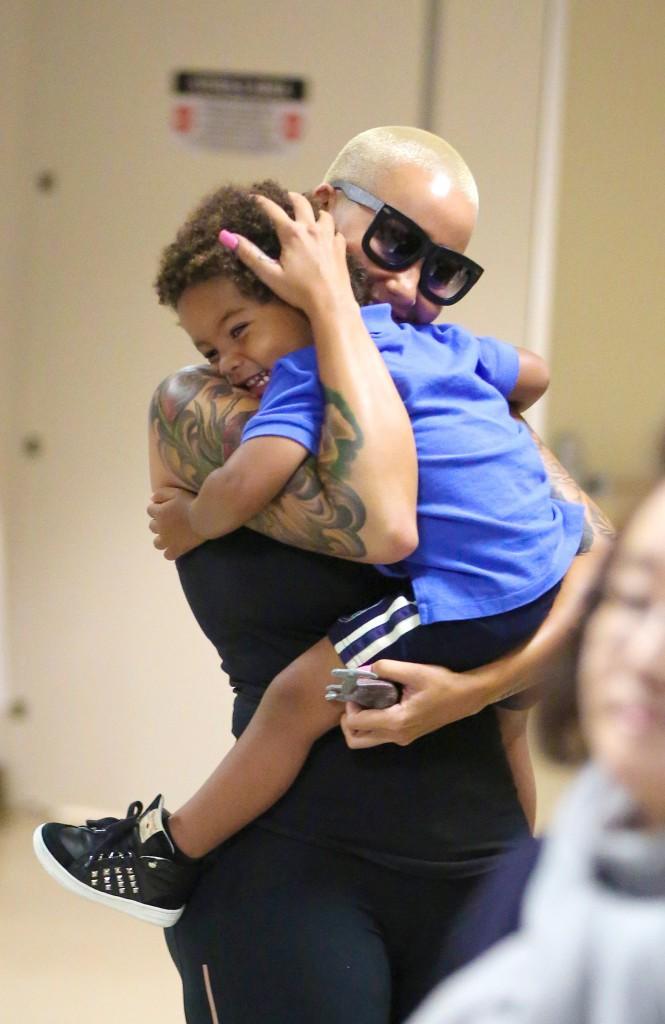 Amber Rose avec son fils Sebastian