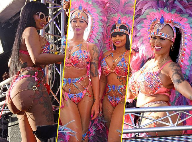 Amber Rose et Blac Chyna au Carnaval