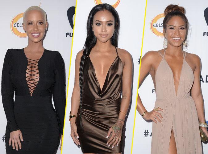 Amber Rose, Karrueche Tran et Cassie : décolletés ultra sexy pour les