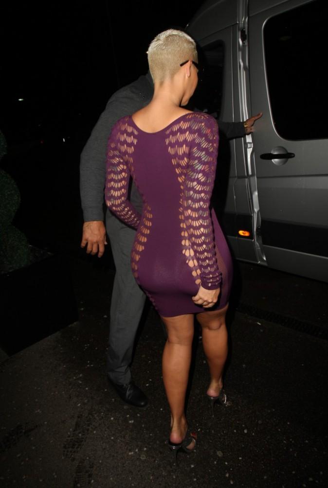 Photos : Amber Rose : les sous-vêtements ? C'est pas son truc !