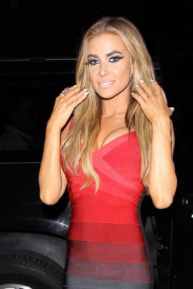 Carmen Electra a sa fête d'anniversaire organisée le 24 avril 2014 à West Hollywood