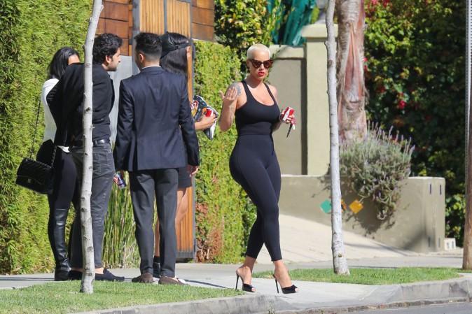 Amber Rose à Los Angeles le 23 février 2015