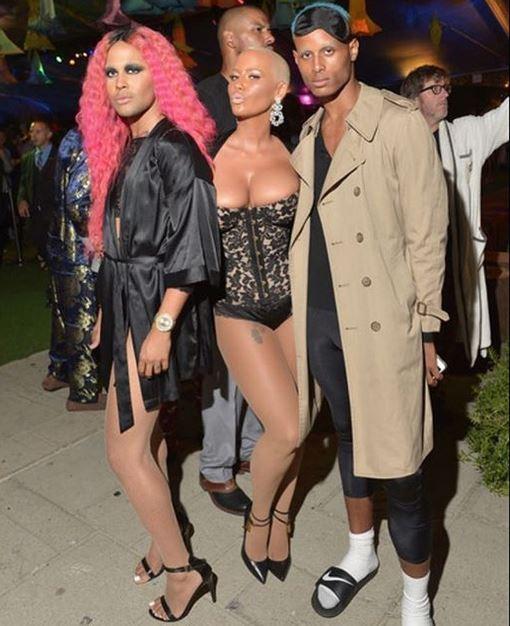 Amber Rose à la soirée Playboy