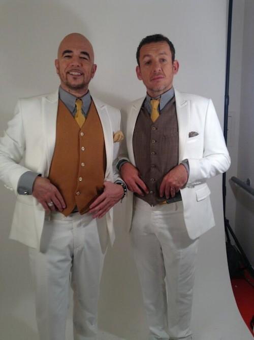 Pascal Obispo et Dany Boon