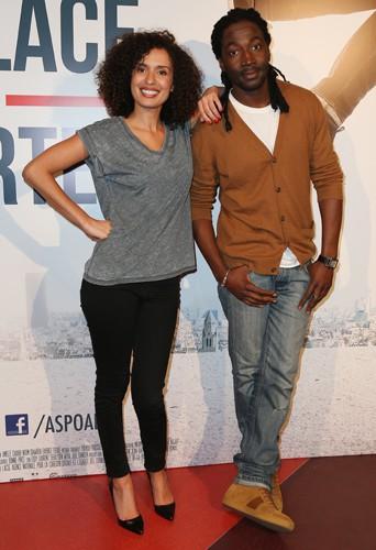 Amelle Chahbi et Noom Diawara à Paris le 26 mai 2014