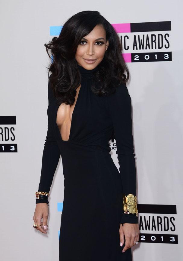 Naya Rivera à la cérémonie des American Music Awards organisée à Los Angeles le 24 novembre 2013