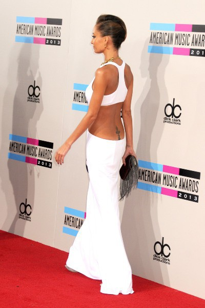 Nicole Richie lors des American Music Awards à Los Angeles, le 24 novembre 2013.