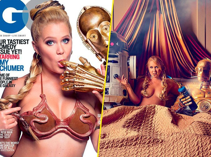 Amy Schumer pour GQ
