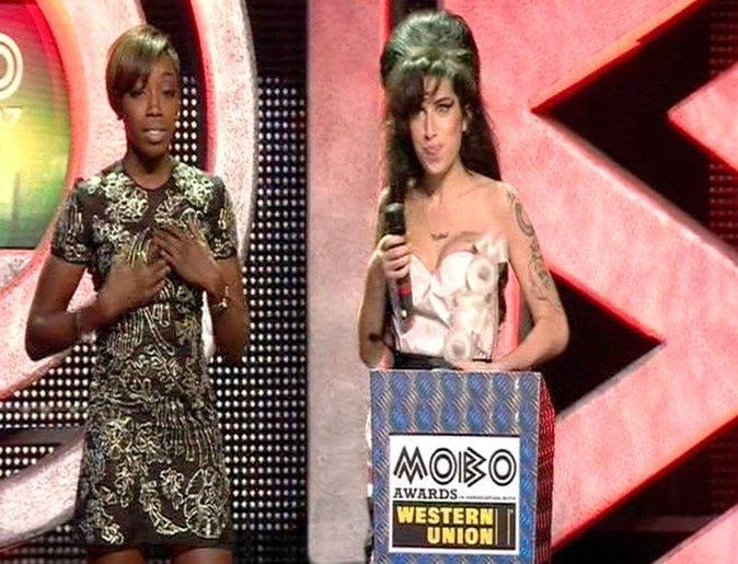 Amy Winehouse a gagné beaucoup de prix