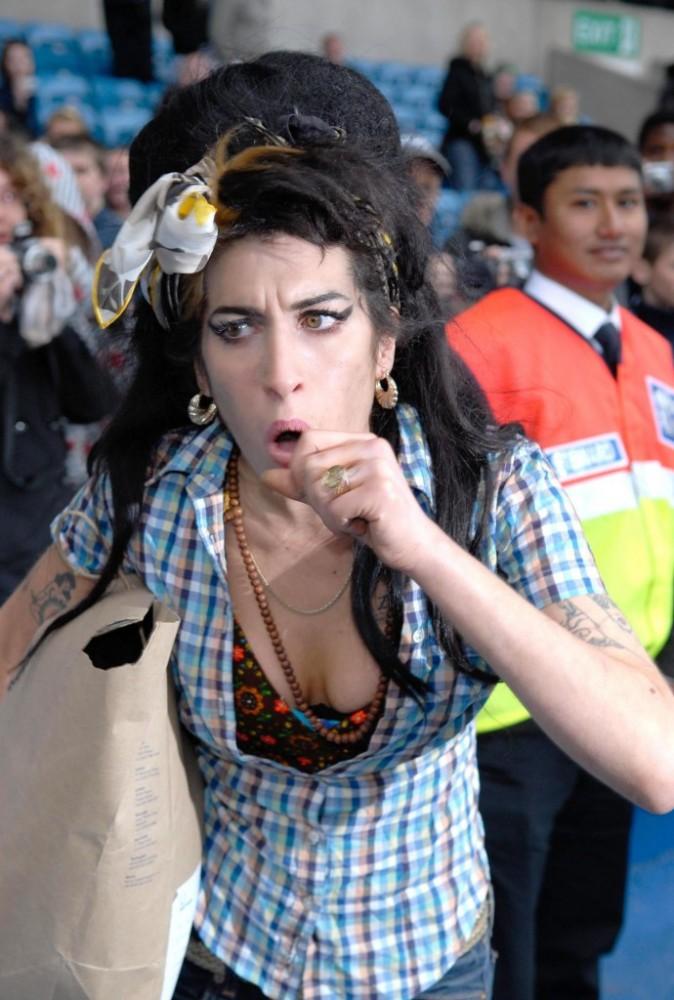 En bonne londonienne, la chanteuse adorait aller au stade !