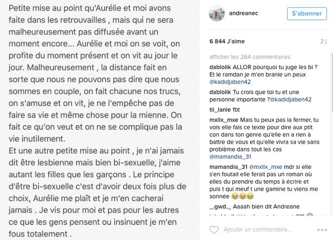 Photos : Andréane et Aurélie (Les Anges 8) : c'est fini !