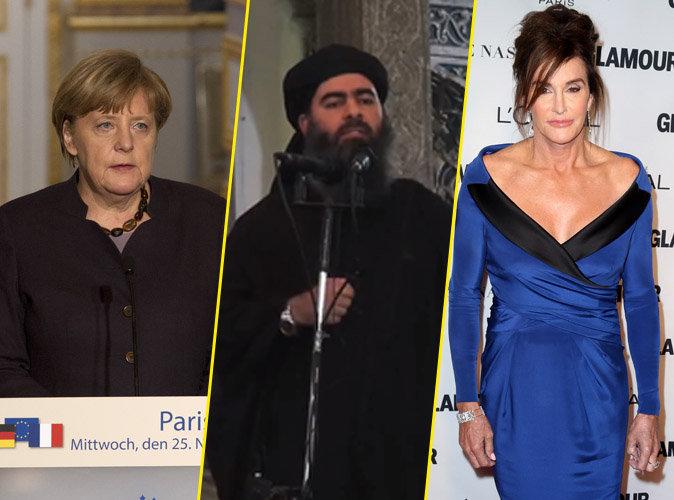 Photos : Angela Merkel, le chef de l'État Islamique, Caitlyn Jenner... influents et liés malgré eux !