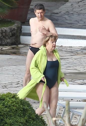 Photos : Angela Merkel : vacances méritées en Italie avec son mari !