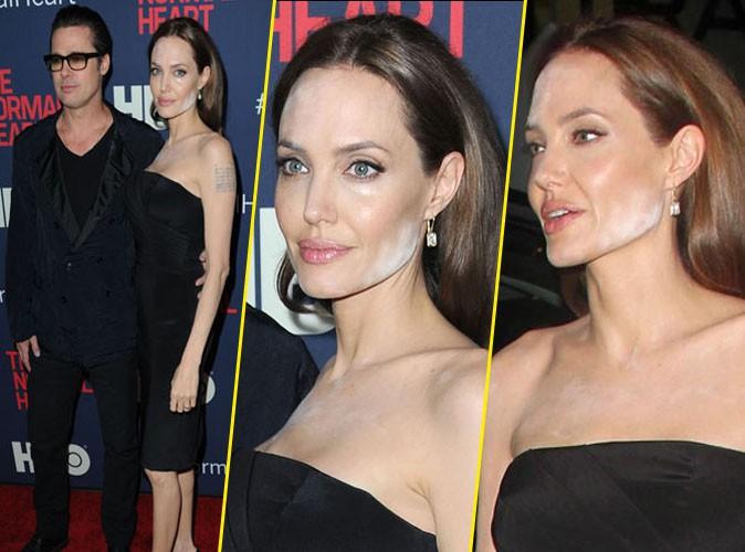 Angelina Jolie et son problème de make-up...