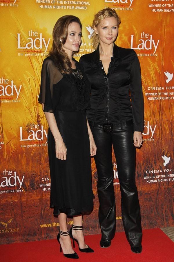 Avec Veronica Ferres