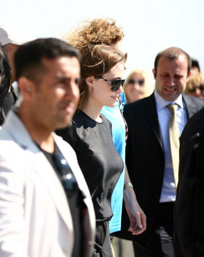 Elle a quitté Brad Pitt pour se rendre en Turquie !