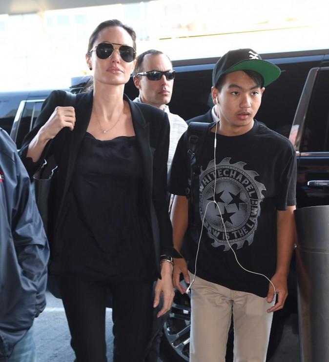 Photos : Angelina Jolie : entourée de sa famille après son discours au siège de l'ONU !