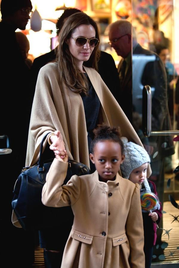 Zahara, le mini-moi d'Angelina !