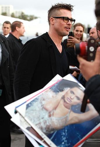 Brad Pitt à Los Angeles le 1er mars 2014