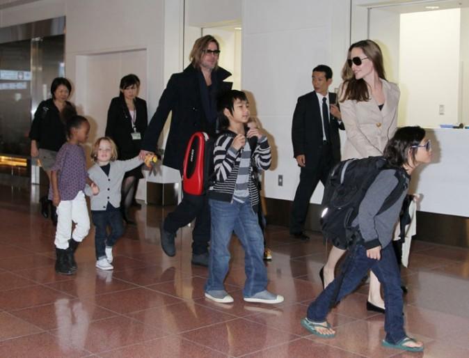 La tribu des Brangelina débarquent à Tokyo