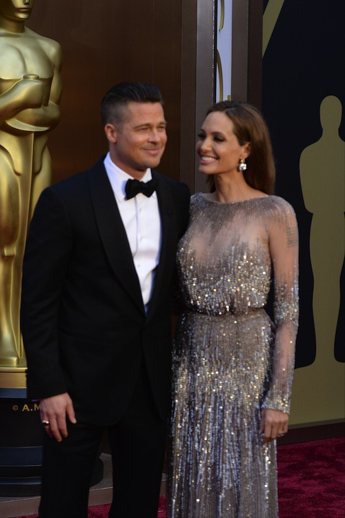Les Brangelina toujours aussi amoureux aux Oscars en mars 2014