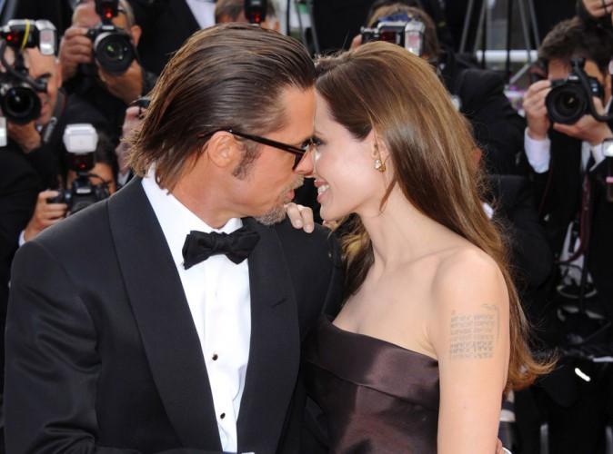 Photos : Angelina Jolie et Brad Pitt : retour sur tous les plus beaux instants love du couple hollywoodien !