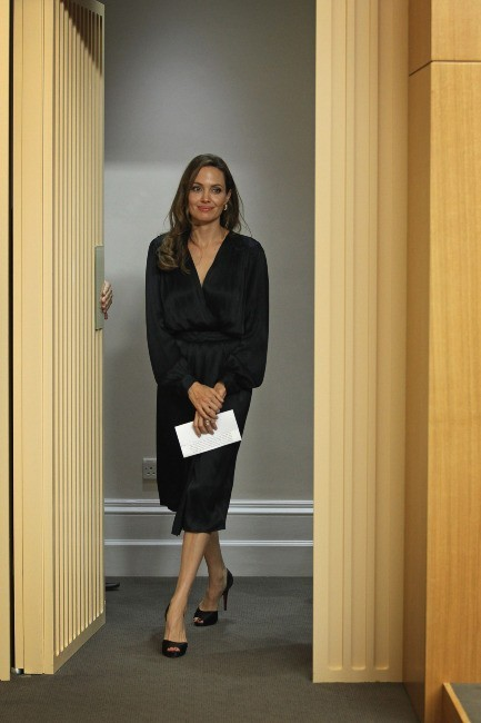 Angelina Jolie à Londres, le 29 mai 2012.