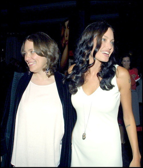 Angelina Jolie et sa mère