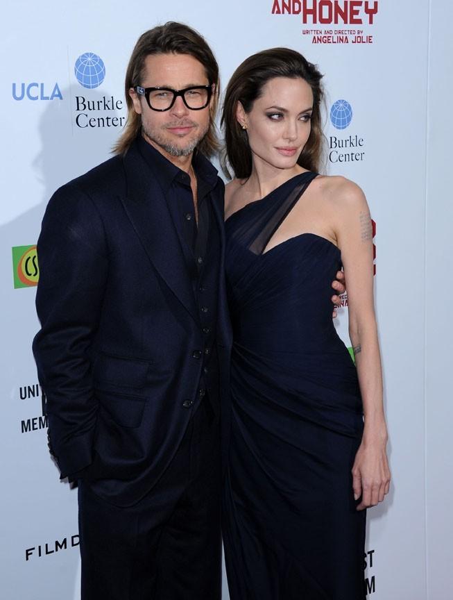Elle poyrra toujours compter sur le soutien de Brad Pitt