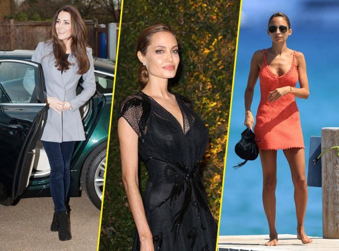 Le retour en force de la maigreur avec notamment Kate Middleton, Angelina Jolie et Nicole Richie ?