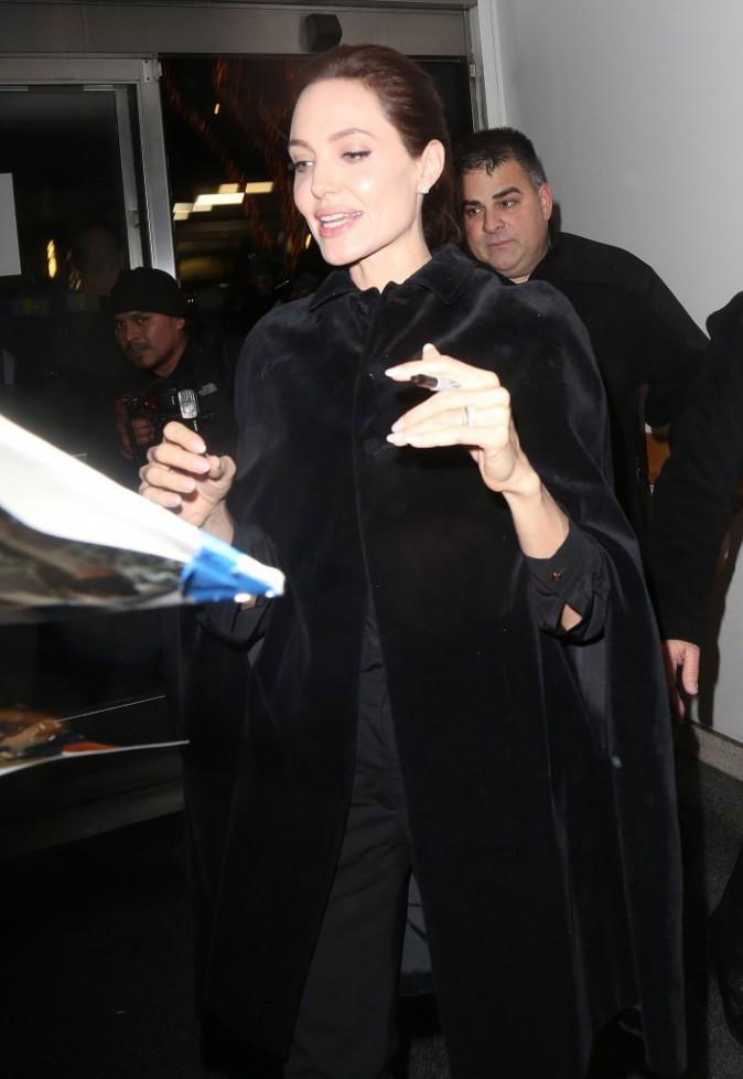 Angelina Jolie à New York le 2 décembre 2014