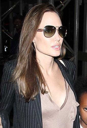 Angelina Jolie à Los Angeles le 25 mars 2014