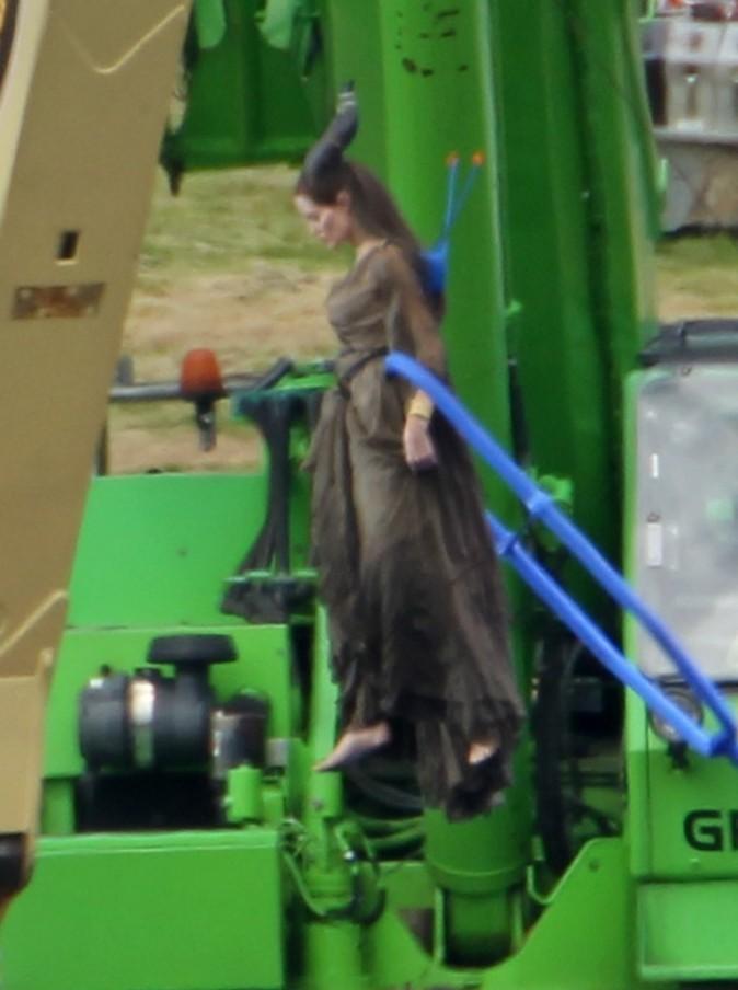 Angelina est prête à s'envoler !