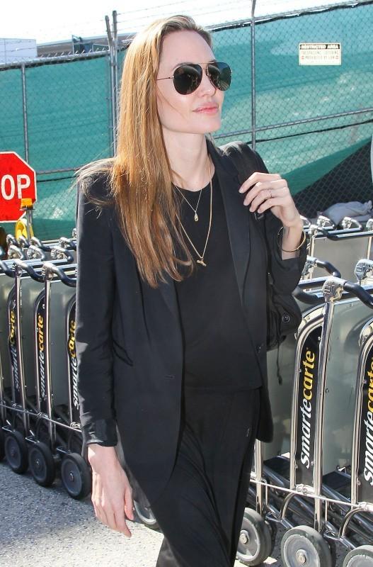 Angelina Jolie le 27 mars 2013 à Los Angeles
