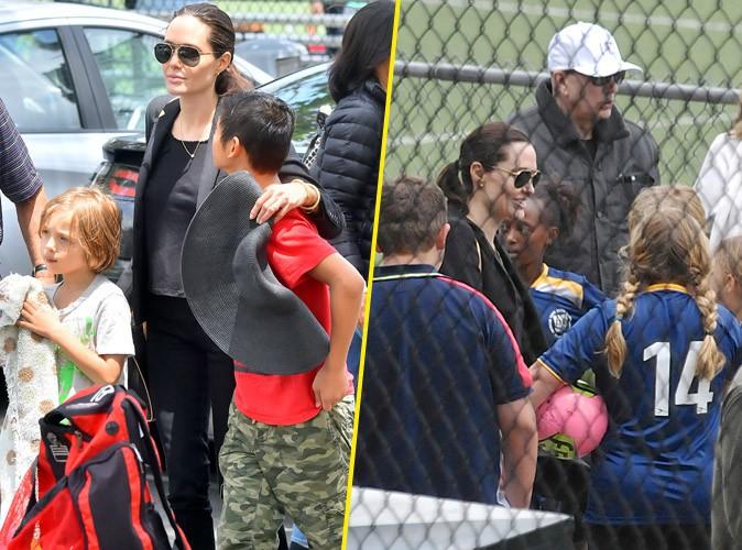 Photos : Angelina Jolie : une supportrice dévouée pour ses enfants !