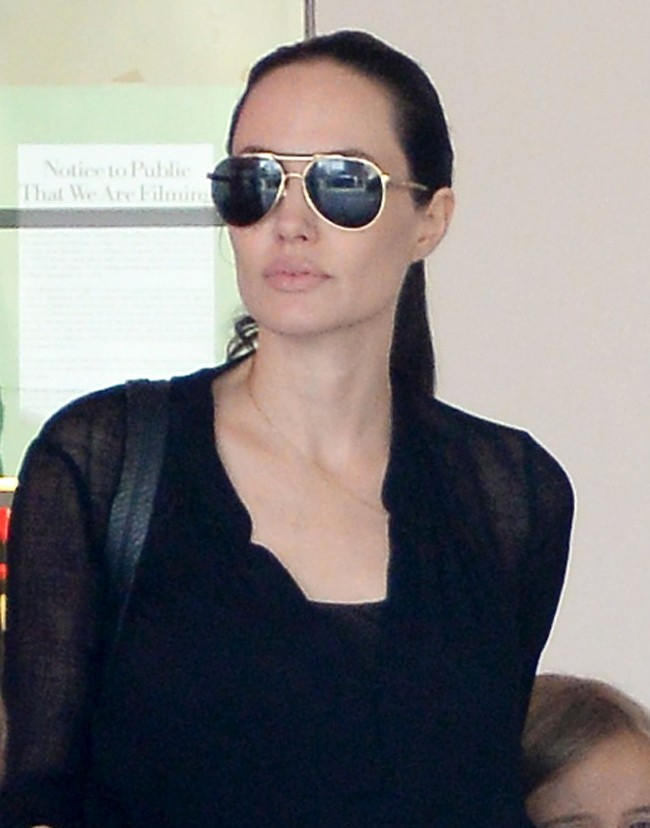 Angelina Jolie à Los Angeles le 19 juillet 2015
