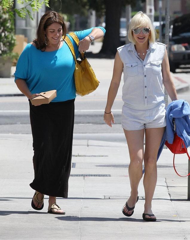 Anna Faris dans les rues de LA