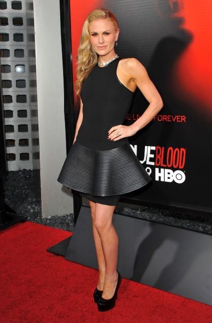 """Anna Paquin et Stephen Moyer lors de la première de la saison 6 de """"True Blood"""" à Los Angeles, le 11 juin 2013."""