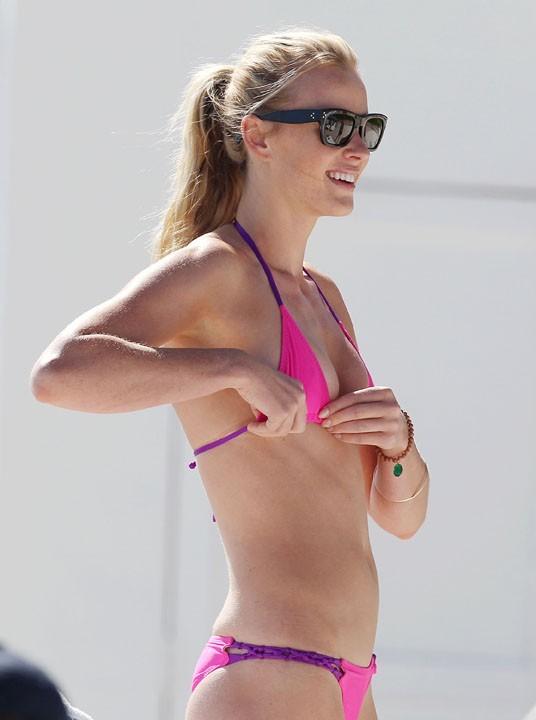 Anna V à Miami le 23 novembre 2012