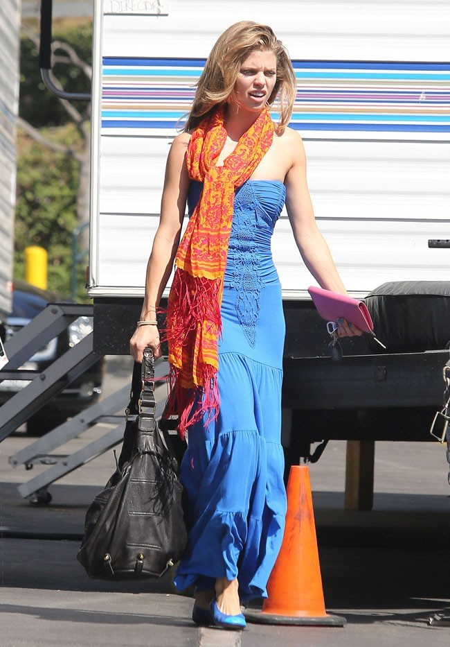 AnnaLynne McCord le 18 septembre 2012 à Los Angeles