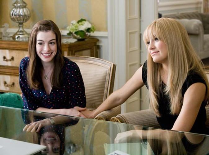 """Avec Kate Hudson dans """"Meilleures ennemies"""" en 2009."""