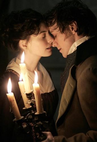 """Dans le rôle de Jane Austen en 2007 dans """"Jane""""."""