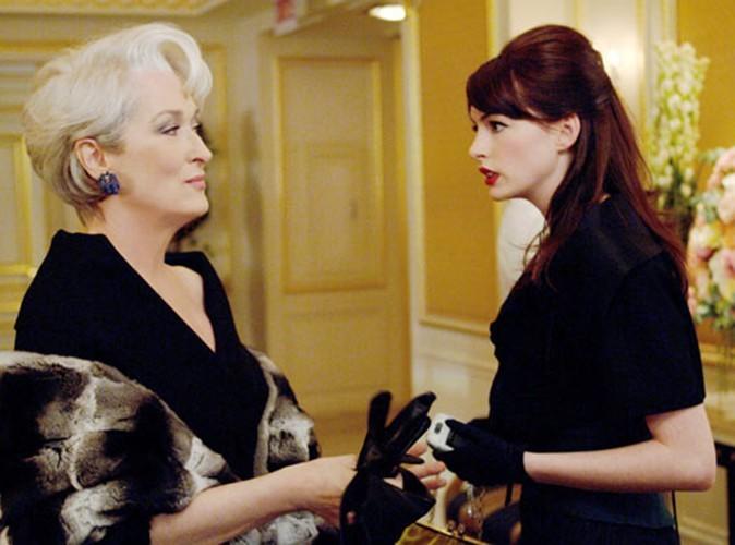 """La consécration aux côtés de Meryl Streep dans """"Le diable s'habille en Prada"""", en 2006."""