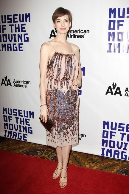 Anne Hathaway le 11 décembre 2012 à New York