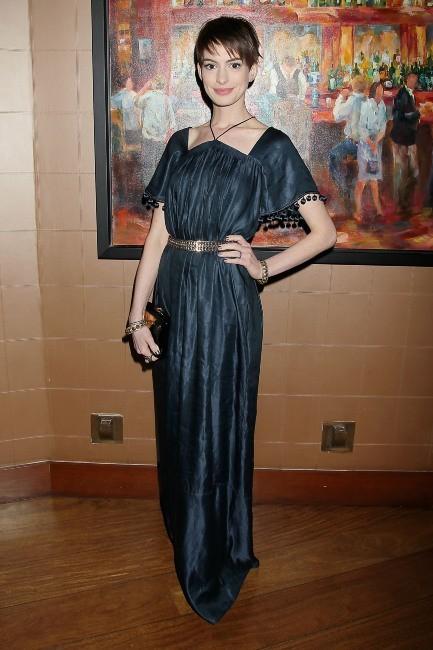 Anne Hathaway à New York, le 2 décembre 2012.