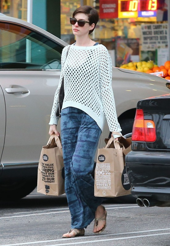 Anne Hathaway le 18 mars 2013 à Los Angeles